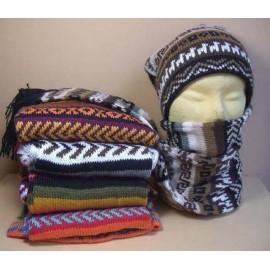 Bonnet et écharpe ensemble