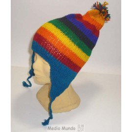 CHULLO ARC Bonnet laine naturelle