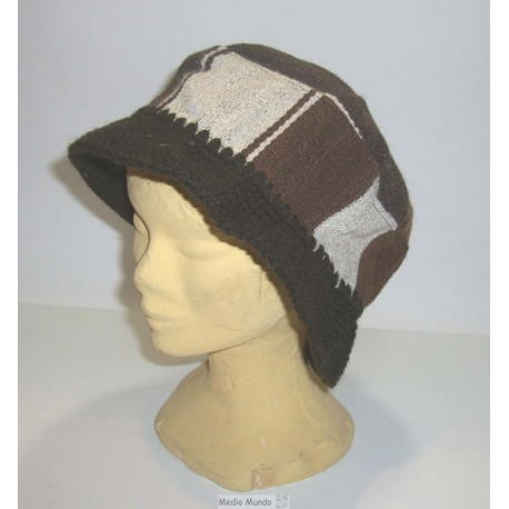 CHAPEAU MANTA Chapeaux tissage et crochet laine