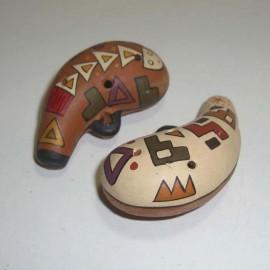 Ocarina péruveinne sifflet en céramique