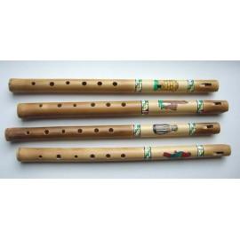 FLUTE DECO Flûte bambou peinte