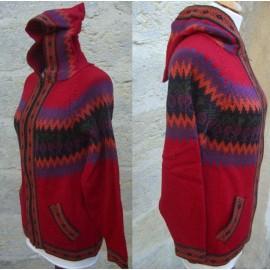 PULL SWEAT COLOR laine alpaga/acrylique