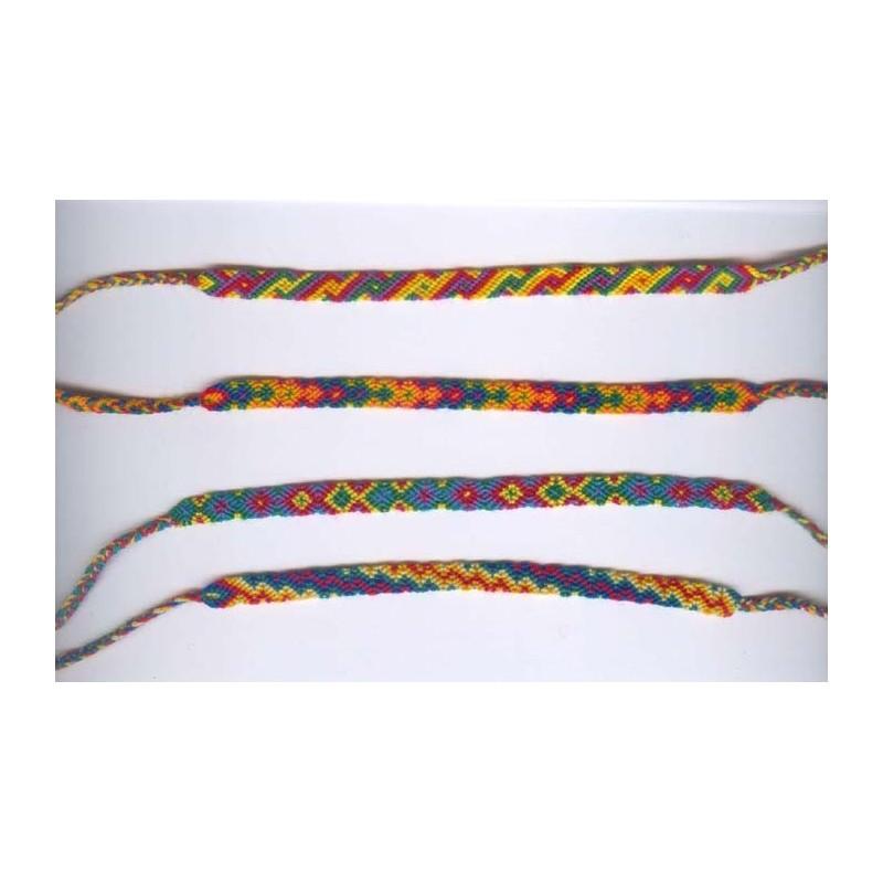 Bracelets tissage hippie en macram pas cher du p rou - Hamac bresilien pas cher ...