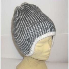 Bonnet laine naturelle original du Pérou