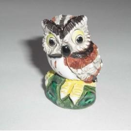 HIBOUX miniature en céramique