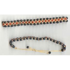Bracelets du Pérou en achiras et macramé