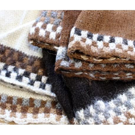 Bonnets en laine ALPAGA du Pérou