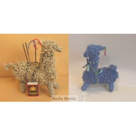 LAMALAINE Lama déco en laine et coton