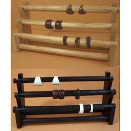 Présentoirs en bois pour bagues vendu à prix discount
