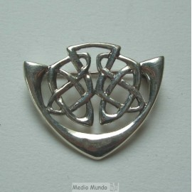 Broche argent A