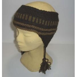 Bandeau à oreille en laine du Pérou