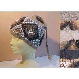 Bonnets à bouclettes en laine du Pérou