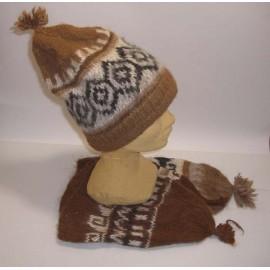 BONNET MONTAGNE Bonnet laine naturelle