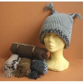 BONNET GN Bonnets laine naturelle
