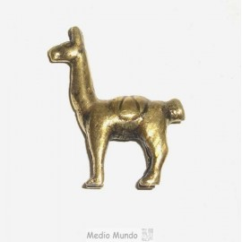 I3 B LAMA Statuette en bronze