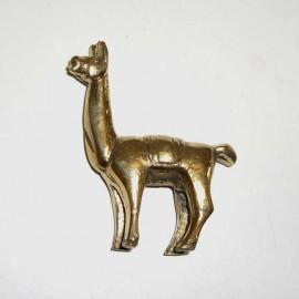 I4 B LAMA Statuette en bronze