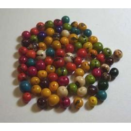 TAGUA 5 Perles en Açaï du Pérou
