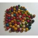 Perles en graines açaï du Pérou pour bijoux