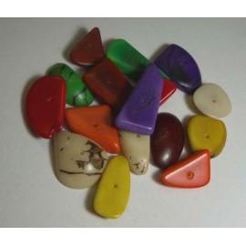 Perles en Tagua pour fabrication bijoux et colliers