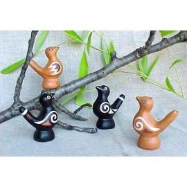 Sifflets à eau en céramique du Pérou