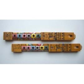 TARKA Flûte en bois peinte