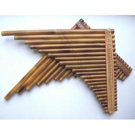 Flûte de Pan antara à 23 tubes en bambou