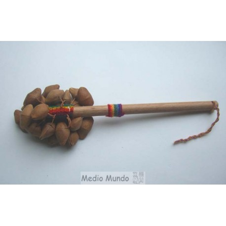 CHACCHA PALO Percussion tissage et graines