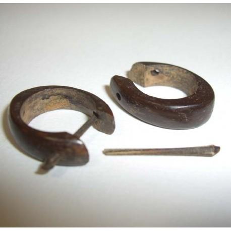 BOCB 4 Boucles minis noix de coco