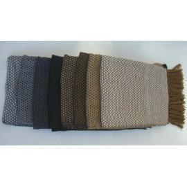 CHALE CONDOR Echarpe laine naturelle