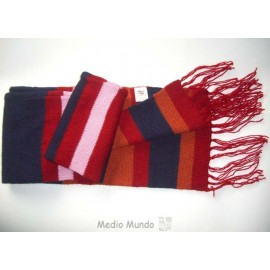 Écharpe péruvienne en laine enpromotion
