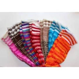 Guêtres du Pérou en laine acrylique