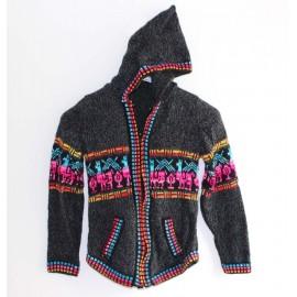 VESTE ENFANT du pérou en laine acrylique