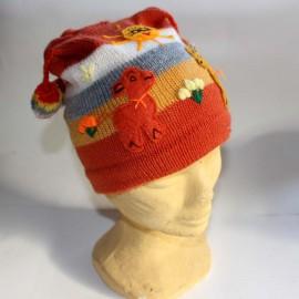 Bonnets enfant décorés du Pérou