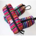 Trousse du Pérou en tissage coloré