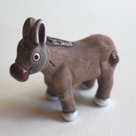 Animaux en céramique peints main au Pérou