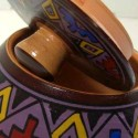 Boites céramique peinte